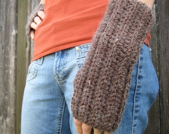 PATTERN - Crochet Fingerless Gloves Pattern - PDF