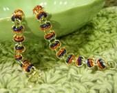 Denver Broncos Florida Gators Blue and Orange Bracelet