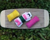 Sushi Ipod Nano MP3 Player Case - 3 Pack Interchangeable Sushi
