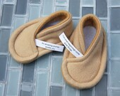 Fortune Cookie Baby Booties - You Personalize Fortunes