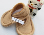 Fortune Cookie Baby Booties - You Personalize Fortune