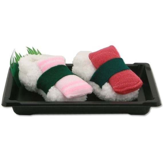 Sushi Baby Booties - Size 0 to 12 Months