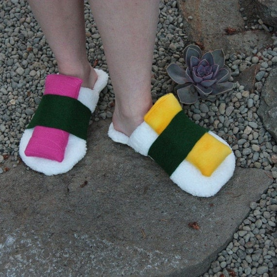 Sushi Slippers - Large