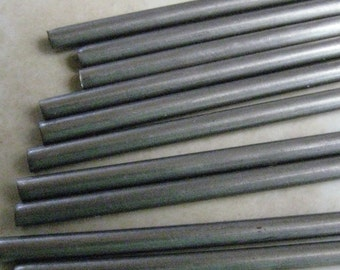 3/16 inch 12 inch Stainless Steel Mandrels 6 qty