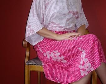 Toni Todd Asian Style Dress M L
