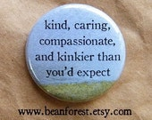 kind caring kinky sex - sexy gifts for her funny button bdsm kinky expect badge magnet girlfriend gifts sex pin sassy button naughty or nice