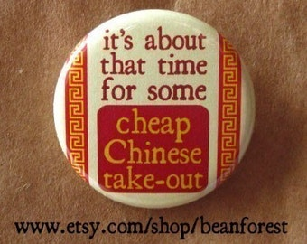 it's time for cheap chinese take-out