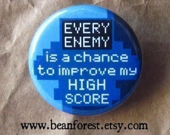 every enemy improves my high score