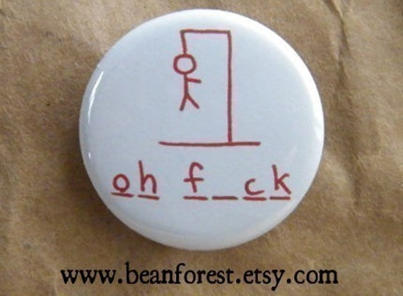 Hangman button