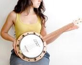 Banjo ukulele ( banjolele) - celentanowoodworks