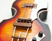3 string electric Violin Guitar  ( hofner style setup)