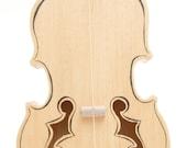 Violin  ( ink outline )   ---one string guitar---