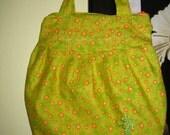 Yellow orange polka-dot bag SALE