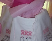Pink Ribbon Boobs Towel