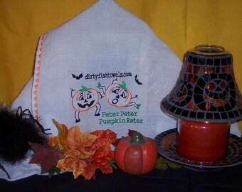 Peter Peter Pumpkin Eater Dish Towel