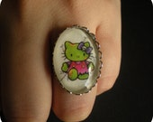 Zombie Kitty Ring