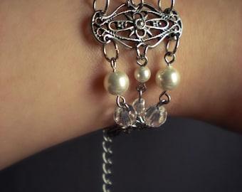 SALE Soft Bridal Glow Bracelet