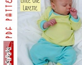 PDF Sewing Pattern:  The Little One Layette (Instant Download)
