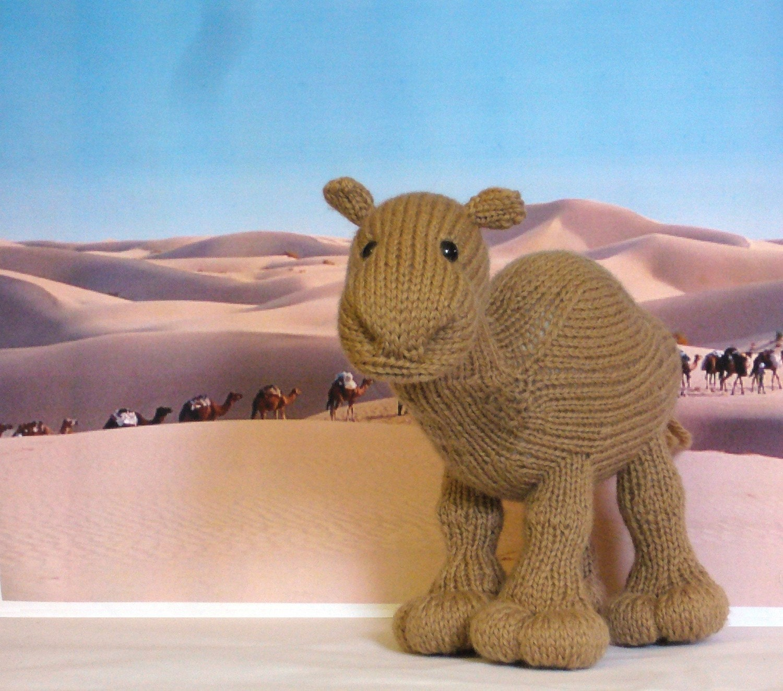 Zahara Knitted Camel Pattern