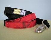 """On Sale - Leash 6ft - with Traffic Handle - Large 1"""" webbing"""