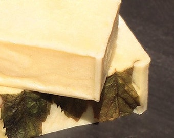 PEPPERMINT Herbal CASTILE Organic Handmade Cold Process Natural Soaps [Savon Bio a Froid]