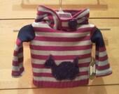 Custom Pullover Hoody w/ Button Tuck