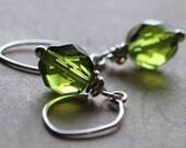 Little Green Earrings