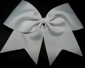 "3"" Texas Size Cheer bow - single layer - squad discounts"