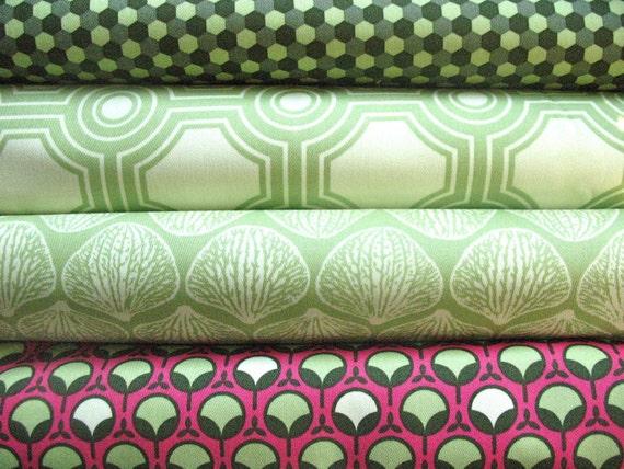 Sale Joel Dewberry Ginseng Home Decor Fabric Half Yard