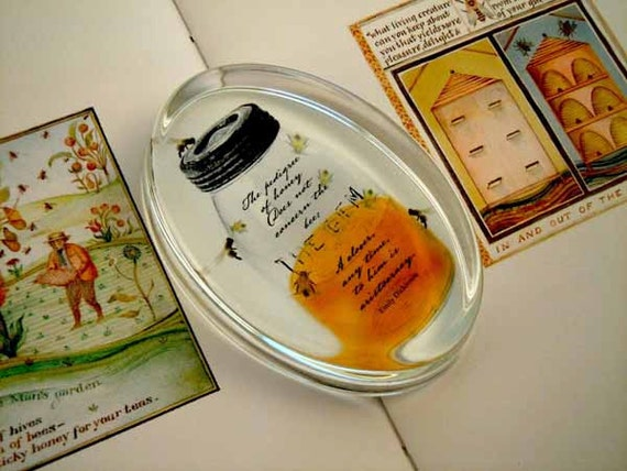 Paperweight - The Pedigree of Honey - Emily Dickinson