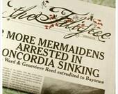 Fairy Tale Newspaper- ZINE- ISSUE 1- the Filigree