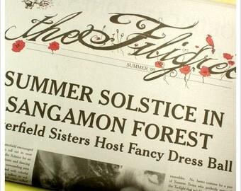 Fairy Tale Newspaper- ZINE- ISSUE 2 - the Filigree