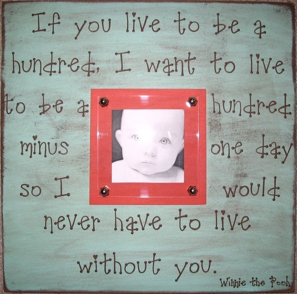 Winnie the Pooh Quotes Framed