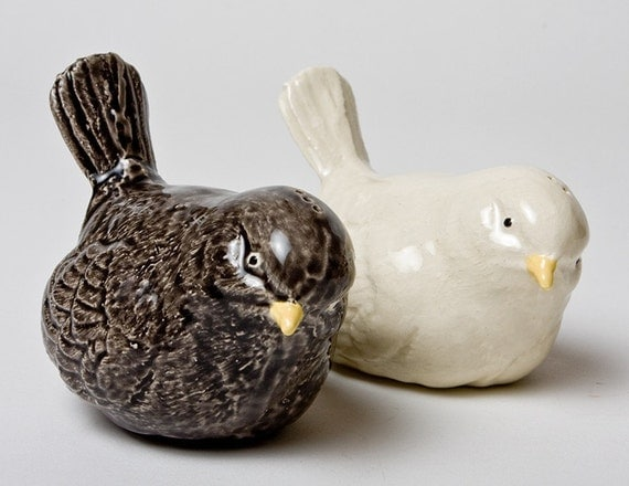 unique salt and pepper shakers 2 birds salt and pepper shakers ceramic unique 11313