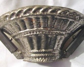 Vintage Professional Chocolate Mold to Make a Basket