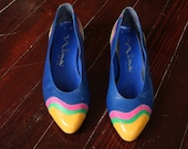 Vintage Dripping Paint shoes 6
