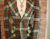 Vintage - Tailor Made - Unisex Blazer - men's xs - women's m