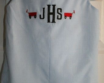Design your own Boy's Monogrammed With Tiny Designs JonJon Size 3mo. to 4T