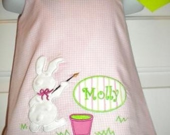 Girls Easter dress size 6mo to 5