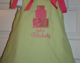 Girls 3 Tier Cake Dress Size 12mo to 5T