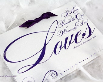 Love Wedding Program