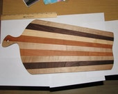 wooden multicolor cutting board (custom made per order)