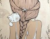 Stay Close - Canvas Print