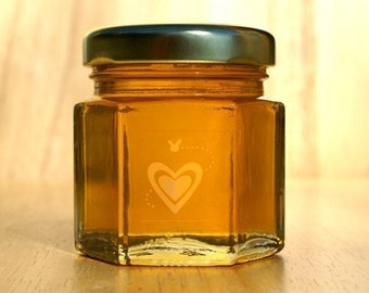 Small Raw Honey Wedding Favors-24 Honey Jar Favors perfect for Wedding Favors, Bridal Shower Favors, Baby Shower Favors, Anniversary Favors