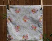 vintage flower napkin set