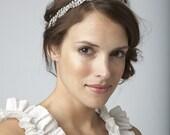 Swarovski rhinestone braid headband or halo