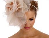 PORTIA-  Extra large ethereal rose bridal headband