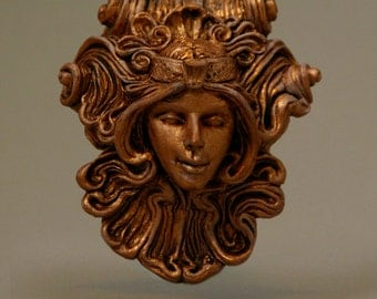 Antigone Medallion - Copper