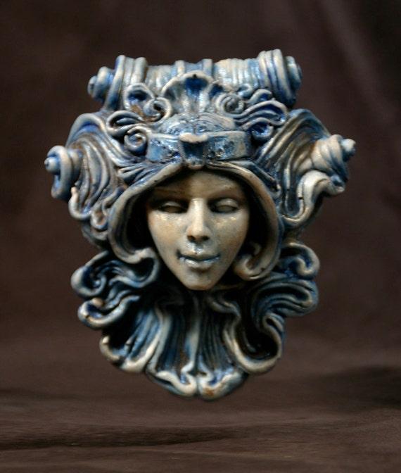 Antigone Medallion - Blue
