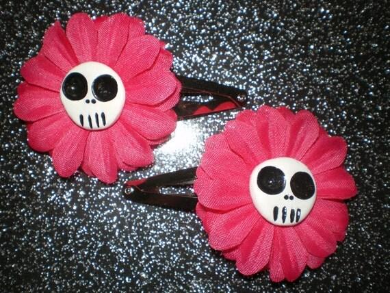 Itty bitty mini daisy's on snapclips